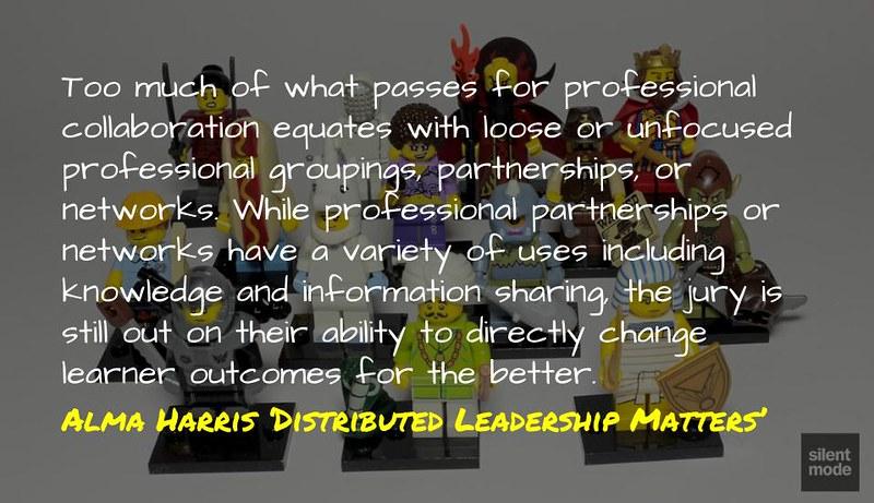 Professional Partnership @almaharris1