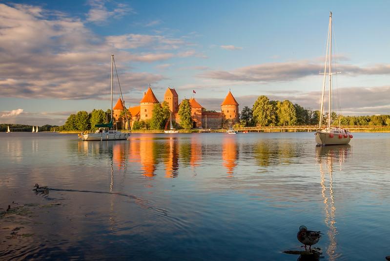 Zamek na wyspie - Troki - Trakai Island Castle