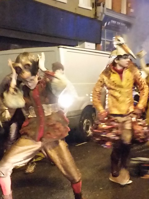 Giant Macnas puppet Parade 10.26.2015