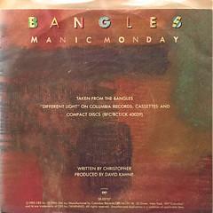BANGLES:MANIC MONDAY(JACKET B)