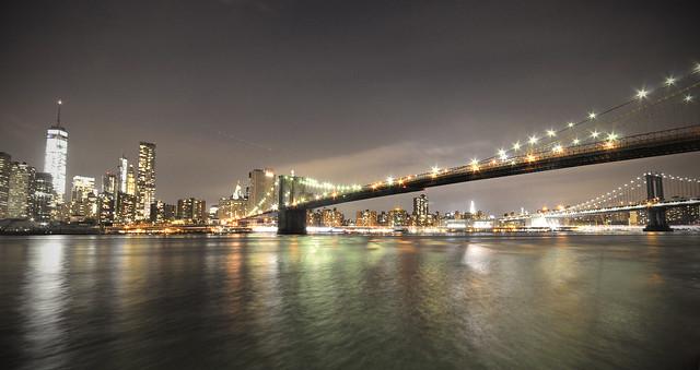 New York - Brooklyn Bridge Panorama