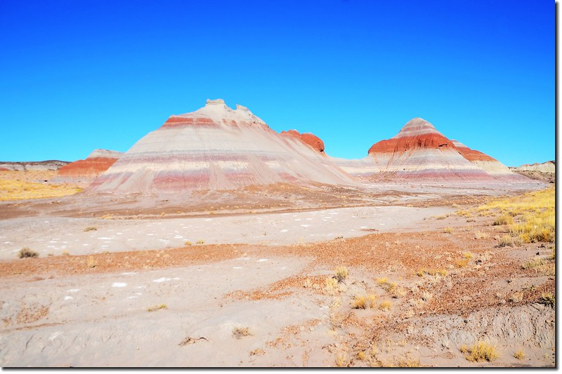 Colors in The Tepees Area, Petrified Forest National Park 3