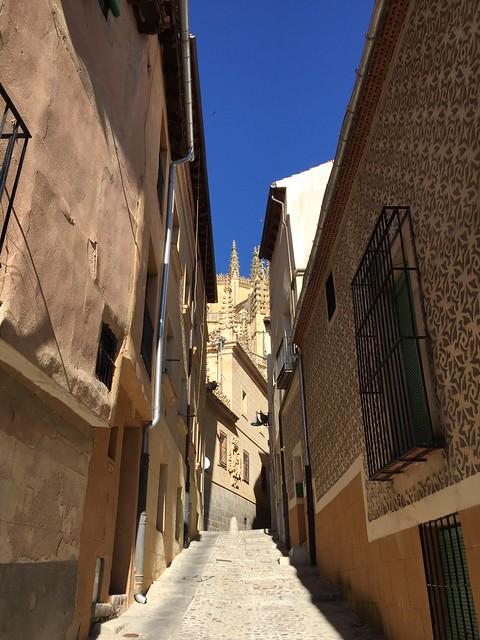 Calle de la Judería, Segovia, Spain