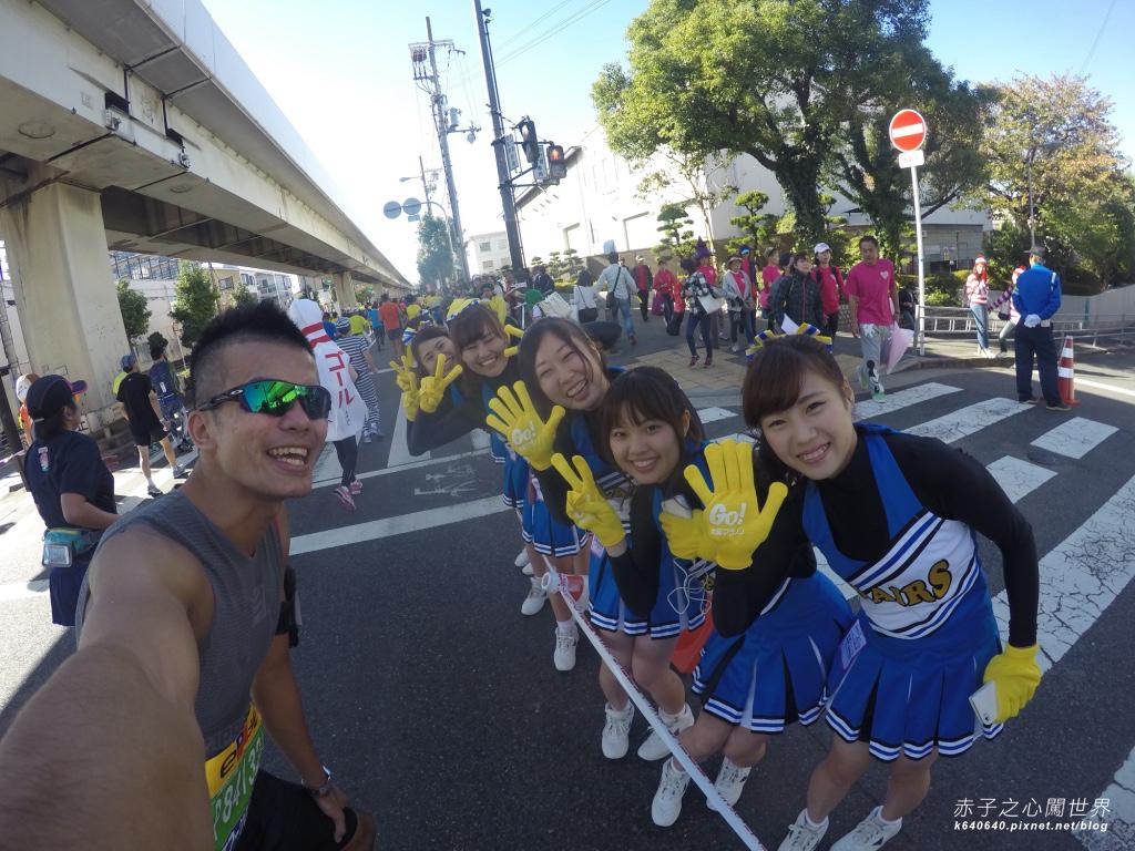 大阪馬拉松-跑步-86
