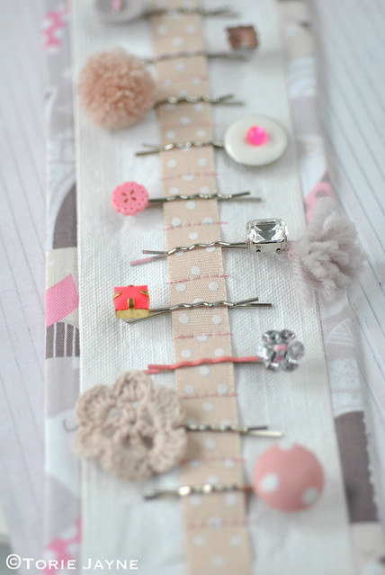 DIY bobby pin holder 3