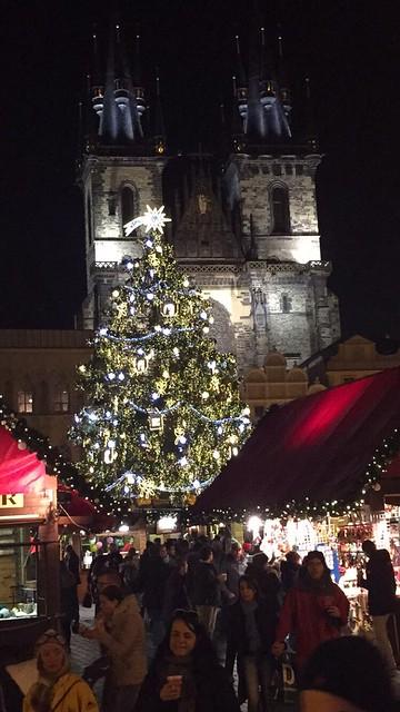 Praha joulumarkkinat