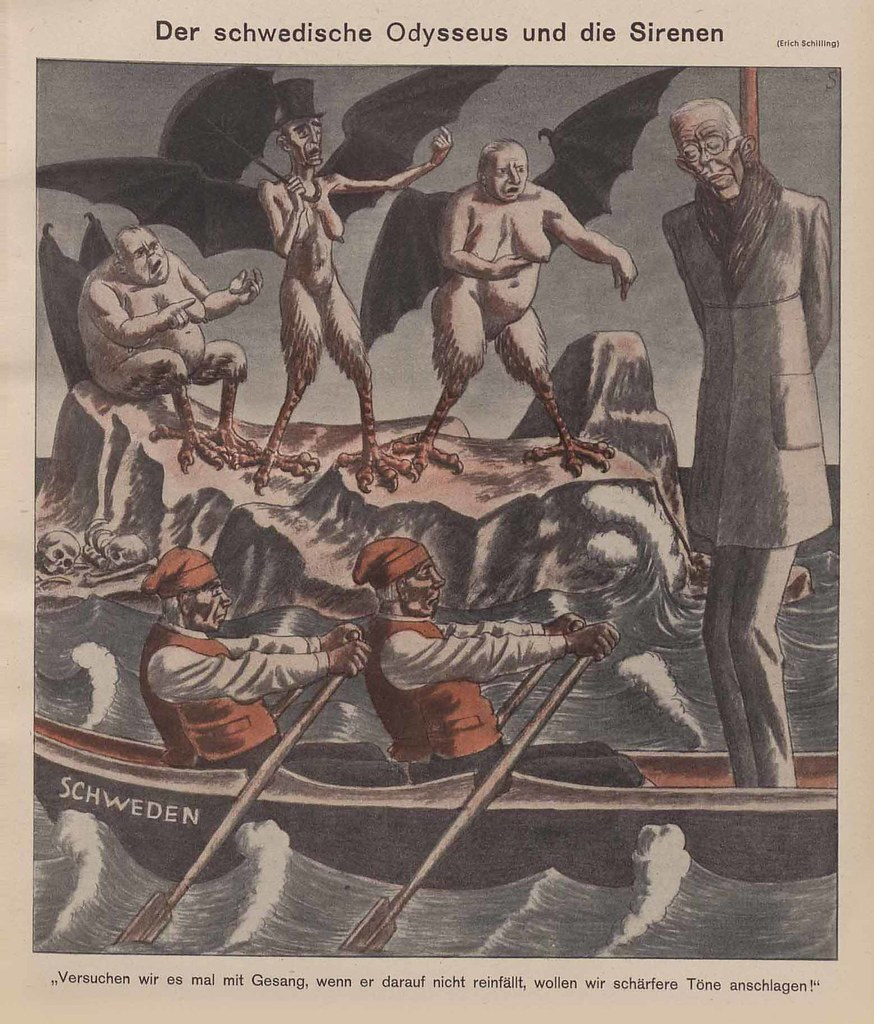 Erich Schilling - The Swedish Ulysses And The Sirens, 1940