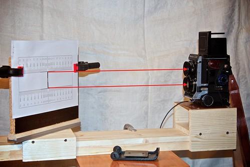 Схема настройки TLR камеры