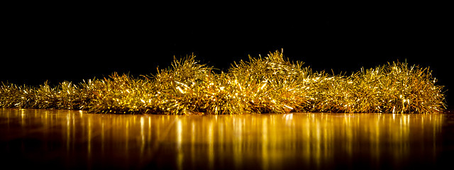 Golden Tinsel