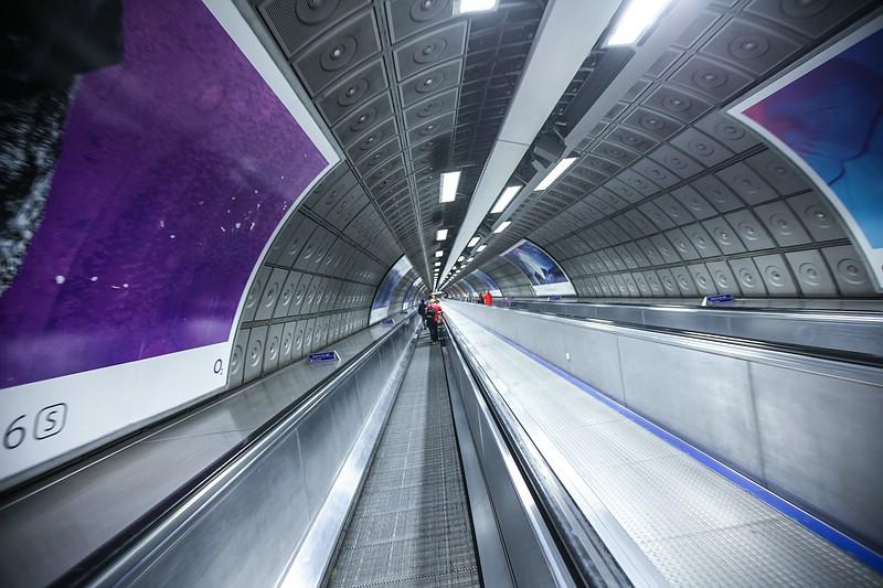 London Underground Escalator