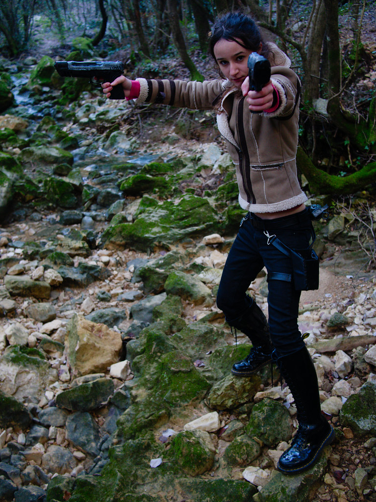 related image - Shooting Lara Croft - Sources de l'Huveaune -2016-12-29- P1630391