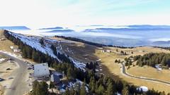 Drones dans les Alpes