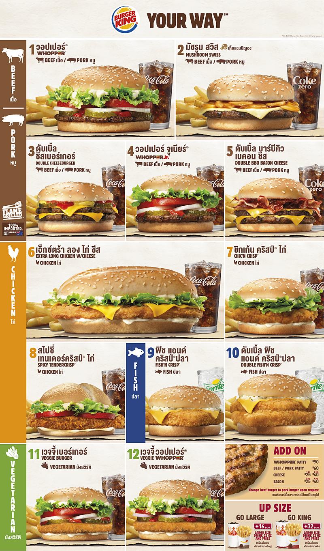 burger king priser sverige