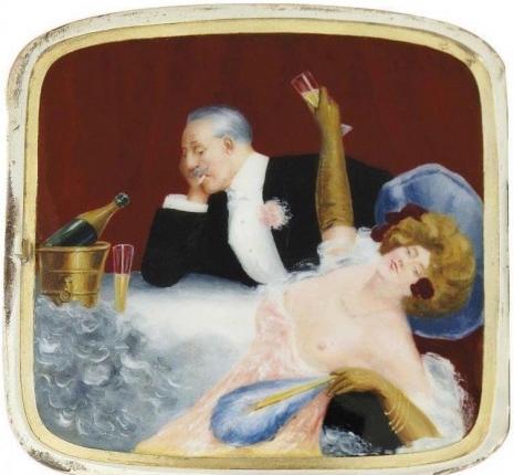 最頹廢的藝術品 20世紀初期煙盒,上流人士手中的情色秘密8