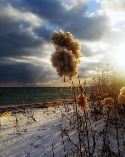 sun fading landscape soft greatlake