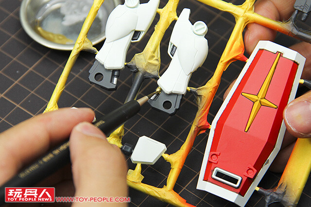 讓居家擺設增添一點鋼彈味兒! ~ FG 1/144 RX-78-2 相框製作