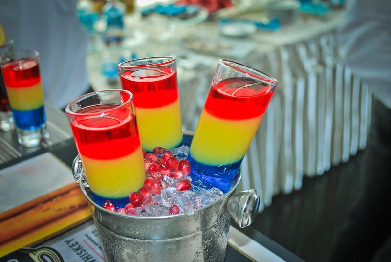 Barul cu cocktail-uri pentru nuntă