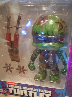 "tOkKustom :: LOYAL SUBJECTS 'Katana Lobotomy' LEONARDO vii / Custom in L.S. TMNT 8"" JUMBO LEONARDO box"