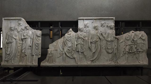 """""""Palazzo della Cancelleria Reliefs"""" I – Frieze B"""