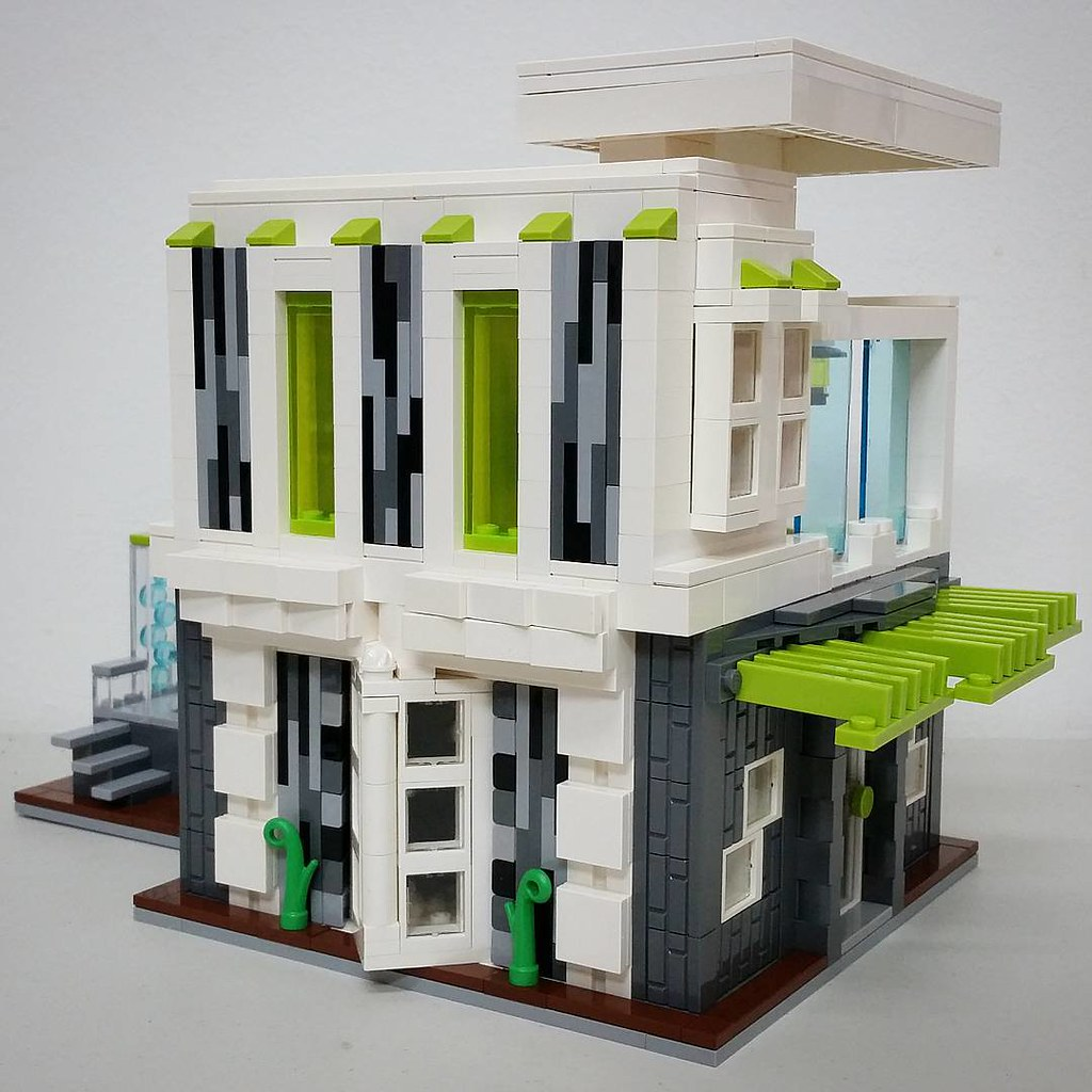 modern house by bruneibricks
