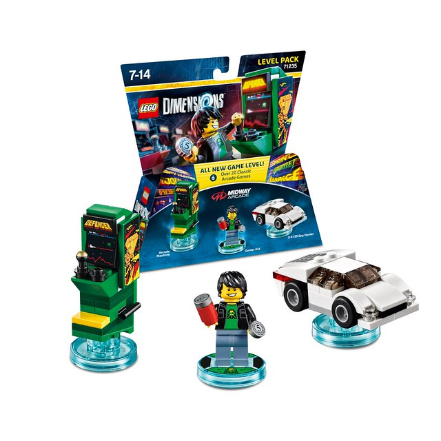 LEGO Dimensions Midway Arcade Gamer Level Pack (71235)