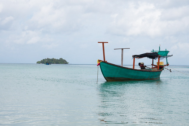 Koh Rong Island boat in Cambodia-3 Budget Guide to Cambodia | Tips on how to do Cambodia on the cheap | How to travel Cambodia cheaply | Cambodia on a budget | 2 weeks in Cambodia