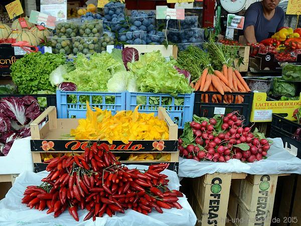 Markt Luino Gemüse