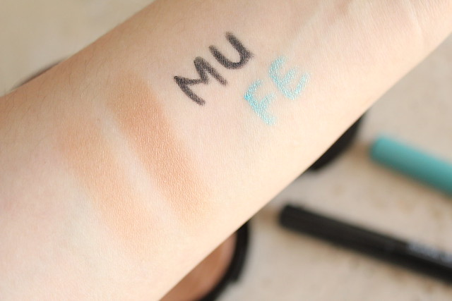Make Up For Ever summer 2015 Pro Bronze Fusion and Aqua Matic review and swatches