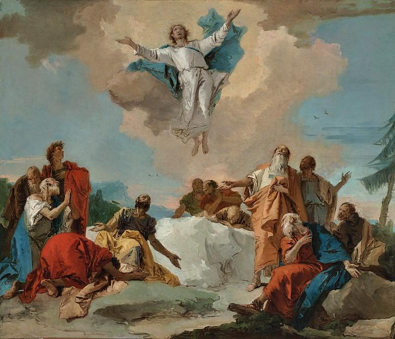 Giovanni Domenico Tiepolo - Ascención (c.1745)