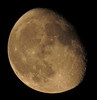 Waning Gibbous, 84% of the Actual Color Moon is Illuminated IMG_3484