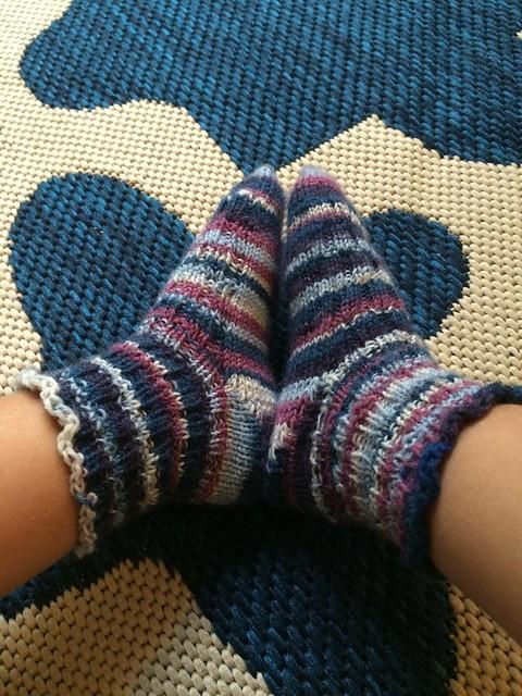 Wee stripey socks