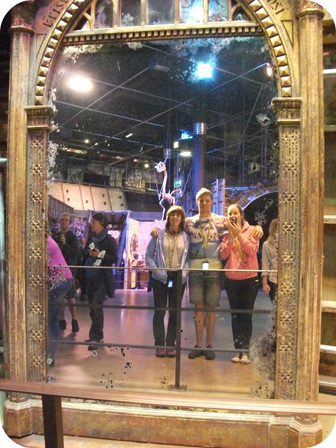 Mirror of Erised Warner Bros Studio Tour London