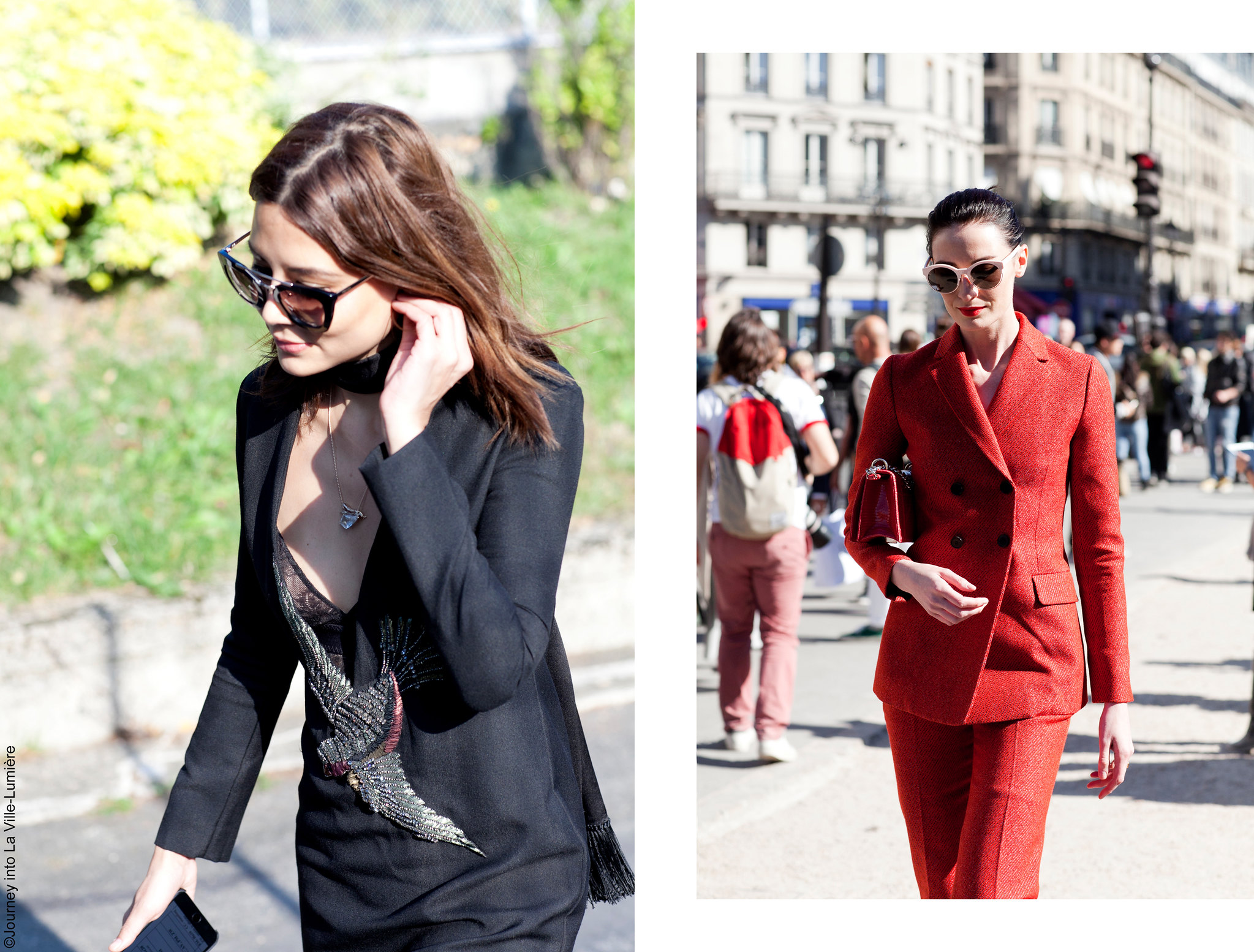 Street style, Paris Fashion Week, SS16