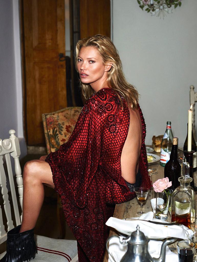 Кейт Мосс — Фотосессия для «Vogue» FR 2015 – 11