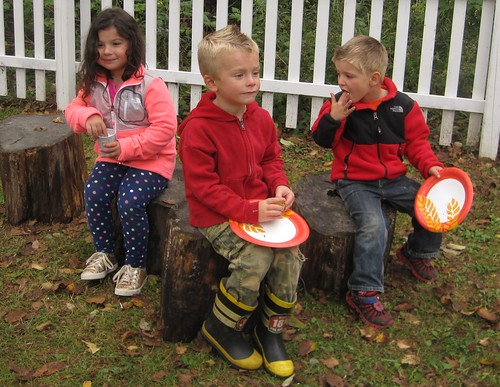 harvest festival snack time!