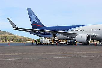 LAN B767-300ER en IPC (LATAM Airlines)