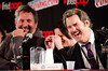 Craig Cackowski, Paget Brewster, and Paul F. Tompkins - Thrilling Adventure Hour - New York Comic Con 2015 - 10.10.15 by adcristal