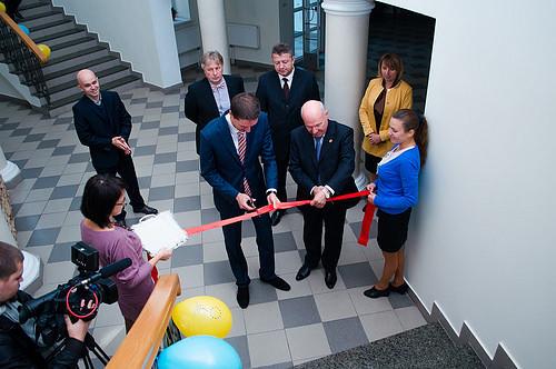 В Острозі відкрили інформаційний центр ЄС