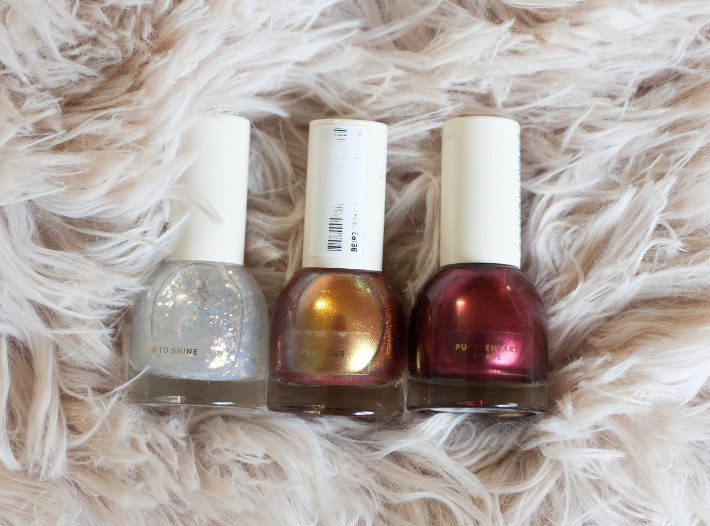 H&M beauty nail polish review