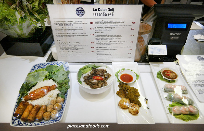 emporium food hall bangkok food presentation