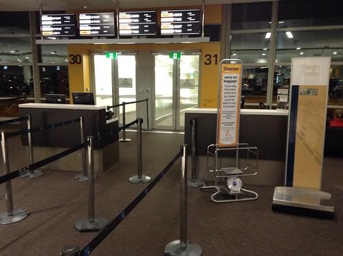 Tigerair borading gate