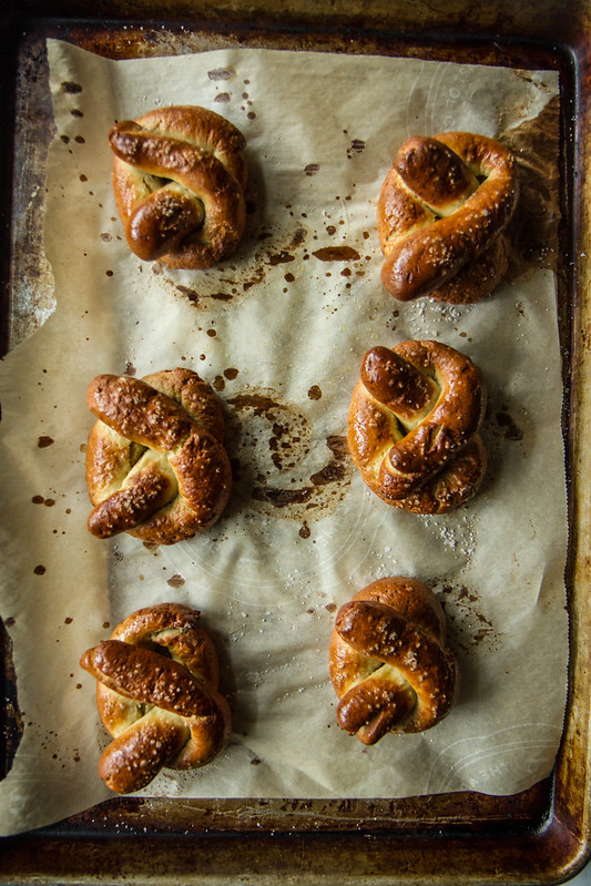 Soft Pretzels- gluten free and vegan