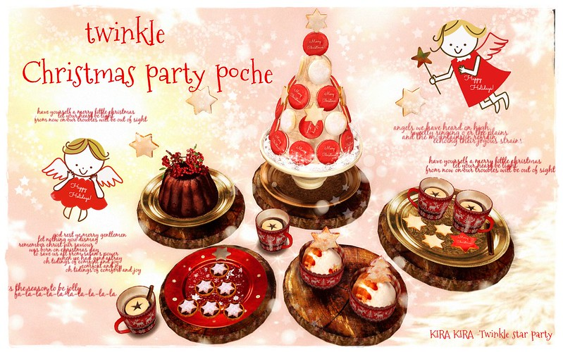 Twinkle Christmas party poche