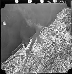 Flyfoto over Brattøra og Nyhavna (1967)