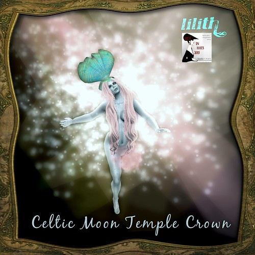 LD Celtic Moon Temple Crown