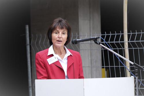 Pia Rüttimann bei der Rede