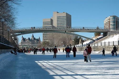 Rideau Canal, Ottawa, ice skating