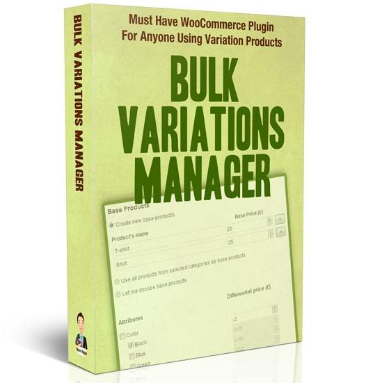 StoreApps Bulk Variations Manager v2.1.1