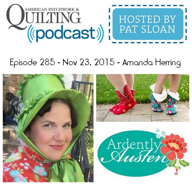 American Patchwork Quilting Pocast episode 285 Amanda Herring
