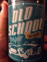 Beersperiment: Old School Stout (Tree brewing, Kelowna, BC) me: 3* @halyma: 4*